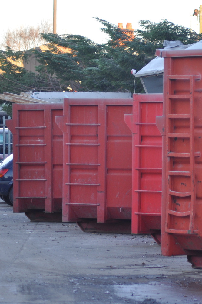 Safety skip and stillage hire Wirral Metals Limited